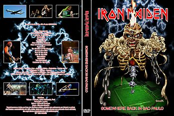 DVD Maiden SP 2008 Capa