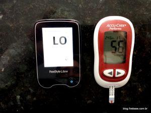 Libre - glicose baixa